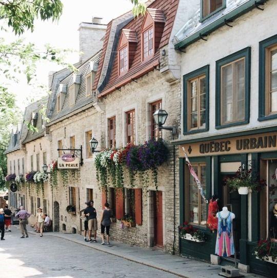 Le Vieux Québec!
