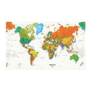 World map chair rail xl wall mural amazon diy tools world map chair rail xl wall mural amazon diy gumiabroncs Gallery