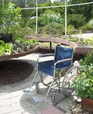 Garden Design Ideas For The Disabled And Wheelchair User | Pete Sims