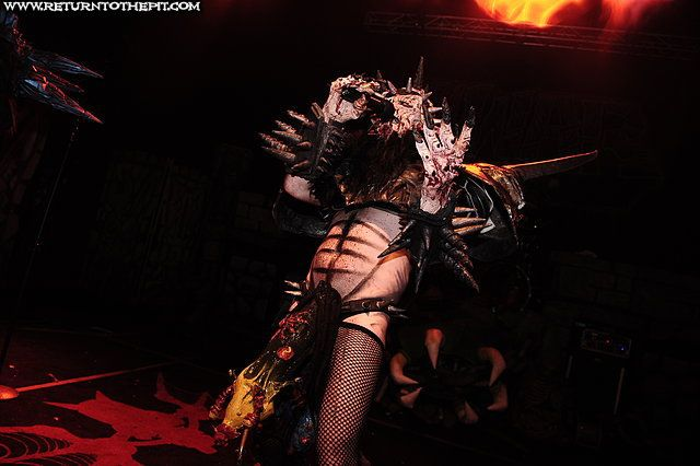 [gwar on Oct 21, 2011 at the Palladium (Worcester, MA)] by the reverend