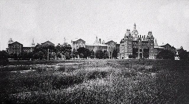 Columbus Ohio The Lunatic Asylum 1880 Lunatic Asylum Abandoned