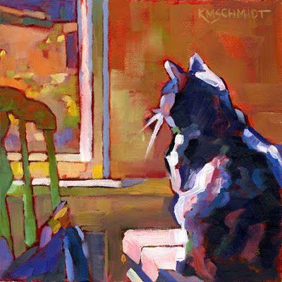 Just Animal Pet Art Paintings by Louisiana Artist Karen Mathison Schmidt