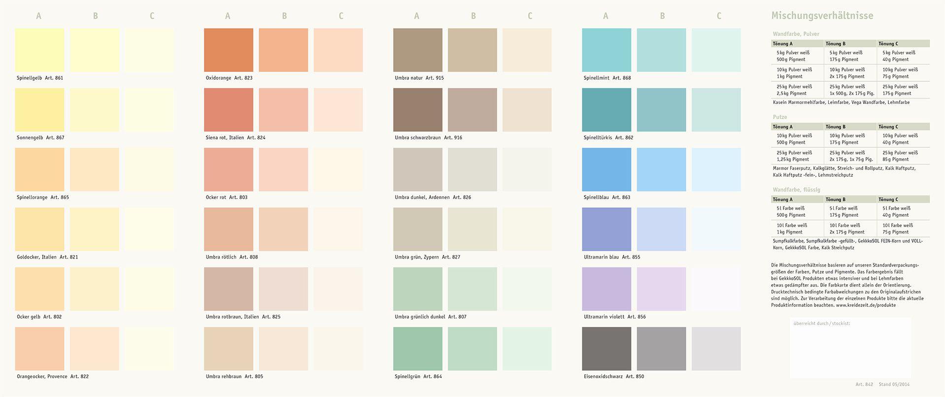 Bildergebnis Fur Farben Mischen Tabelle Farben Mischen Farben