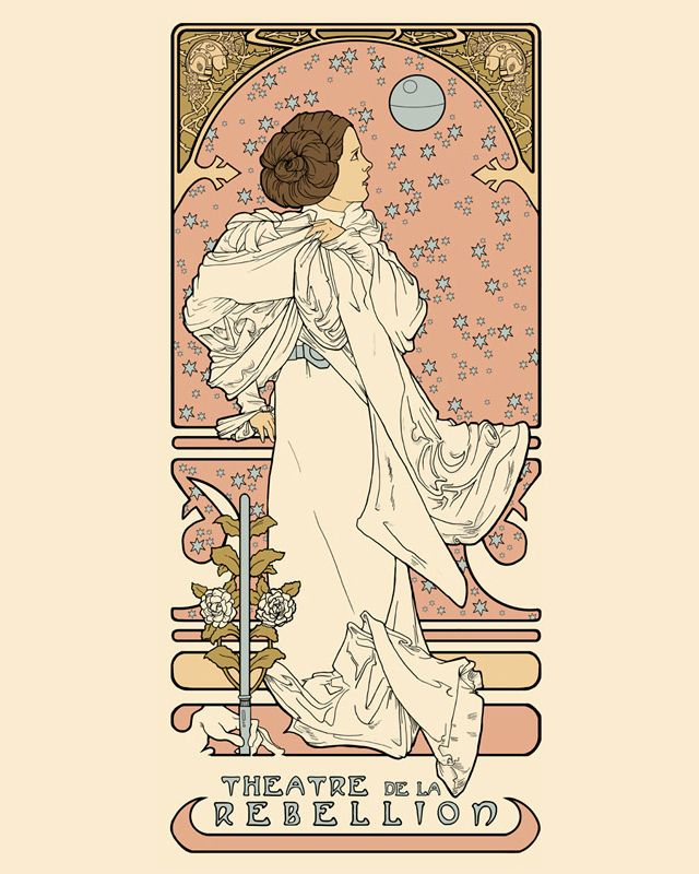 alphonse mucha star wars awesome design pinterest alphonse mucha and sci fi. Black Bedroom Furniture Sets. Home Design Ideas
