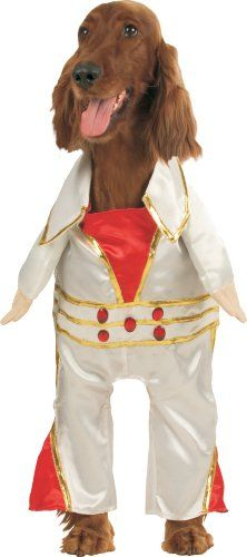 Elvis Las Vegas Rock Star Dog Costume Size Small Dogs 1020 Lbs