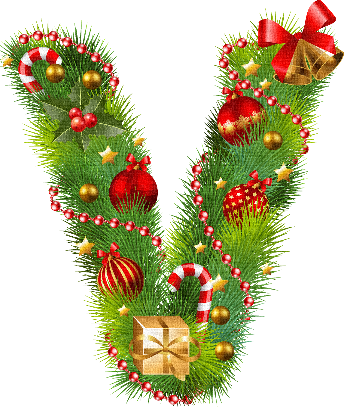 Yeni Il Hərfləri 2017 Christmas Wreaths Holiday Decor Lettering