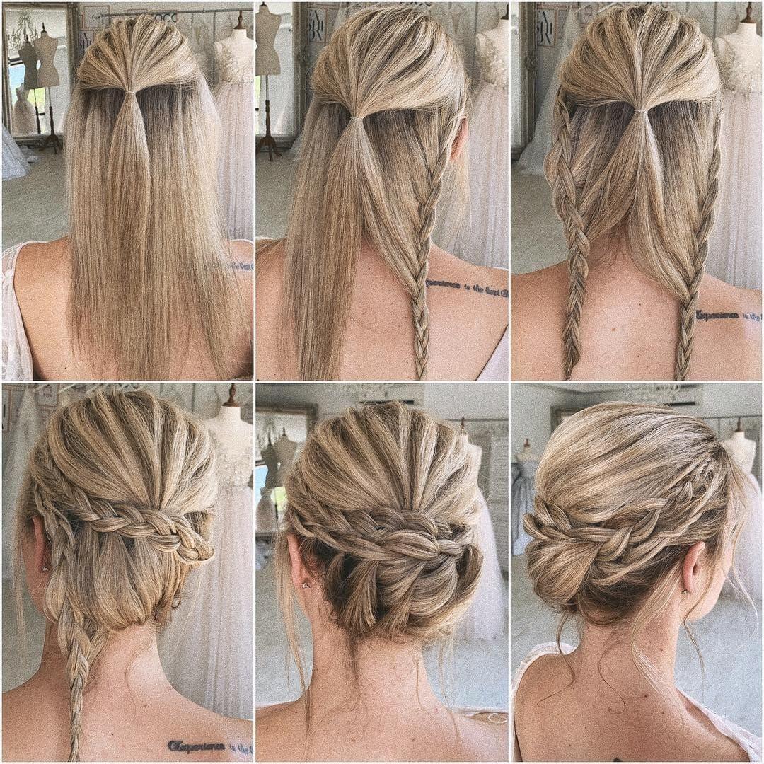 """hairsandstyles ♡ en Instagram: """"¿Te gusta este peinado? crédito Ulyana Za …"""