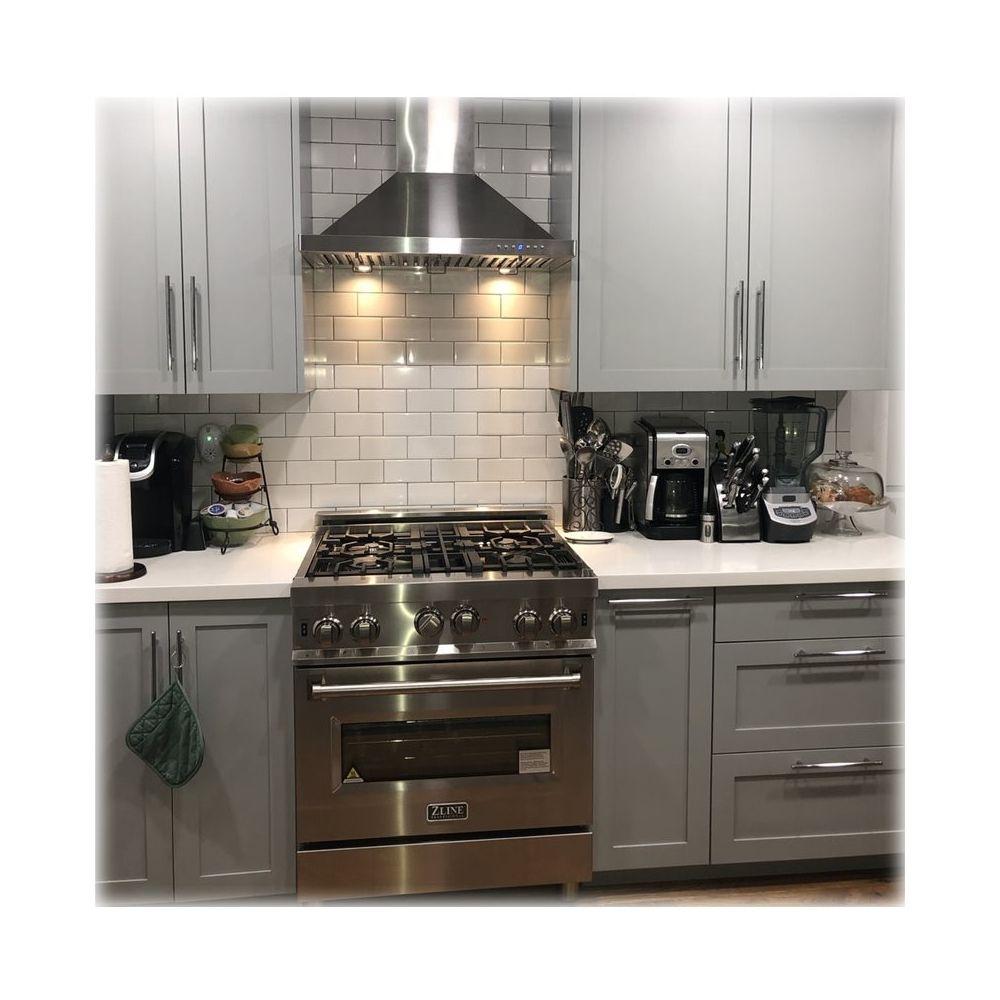 Zline 48 Externally Vented Range Hood Brushed Stainless Steel Kb 48 Best Buy Range Hood Brushed Stainless Steel Kitchen Vent