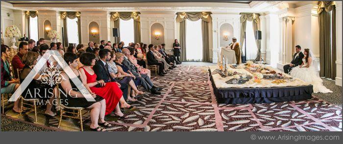 Beautiful Wedding Ceremony Inside The Crystal Ballroom At Westin Book Cadillac Hotel Arisingimages