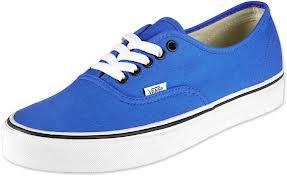 vans blu e azzurre