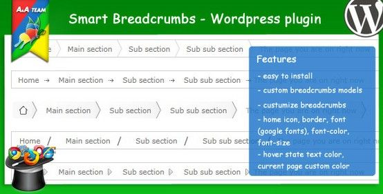 Smart Breadcrumbs Wordpress Plugin Wordpress Plugins Plugins Wordpress