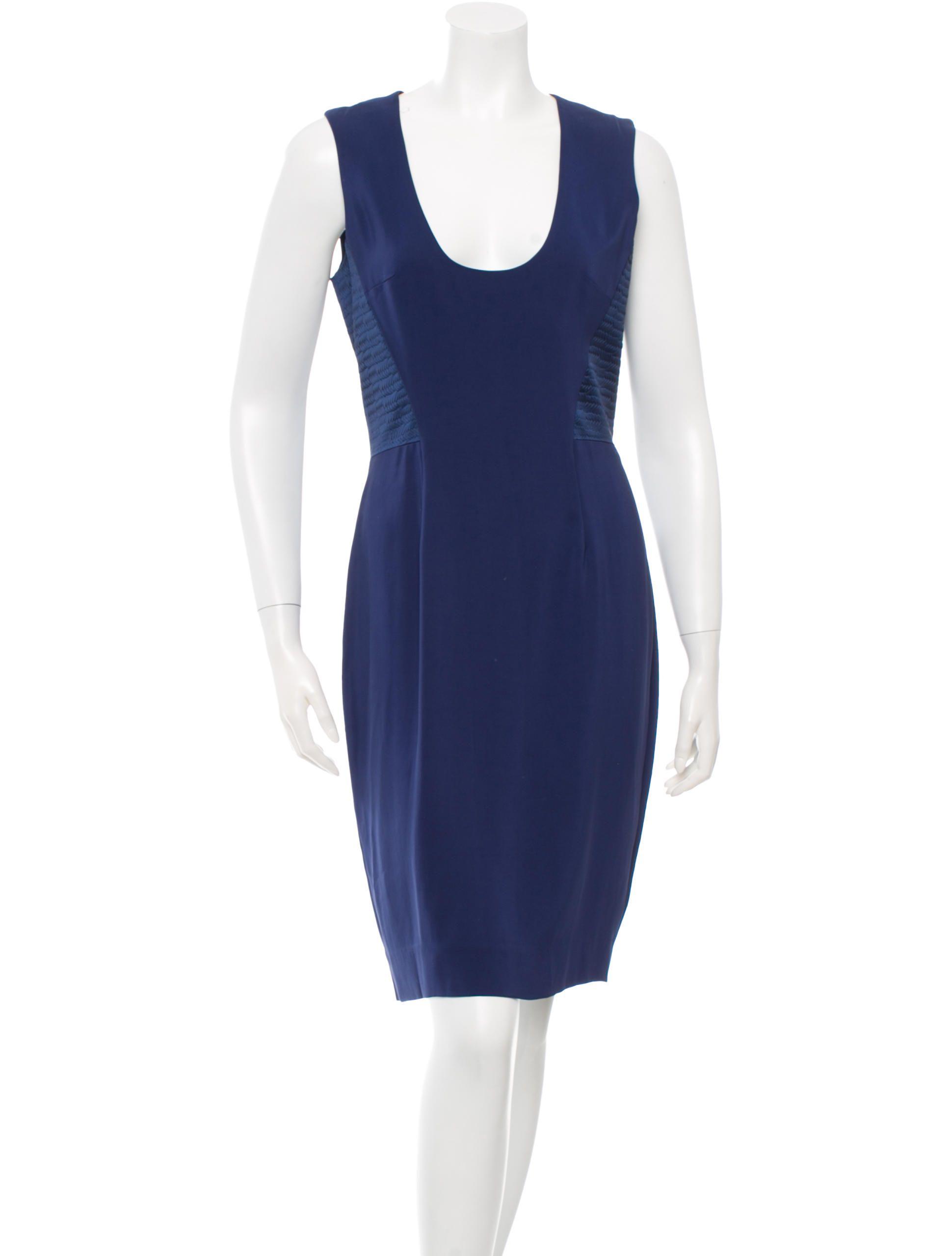 DRESSES - Knee-length dresses L'agence Really Cheap Online 3OEKiGdv3