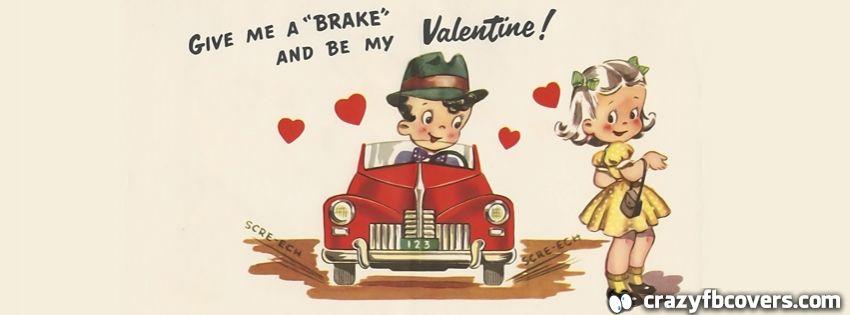 Vintage Valentine Card Facebook Cover Facebook Timeline ...