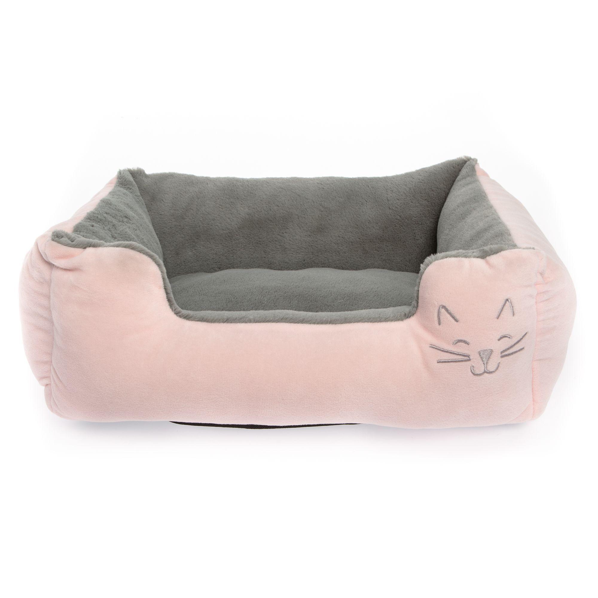 Groovy Whisker City Kitty Face Cuddler Cat Bed Baby Pink Kitten Customarchery Wood Chair Design Ideas Customarcherynet