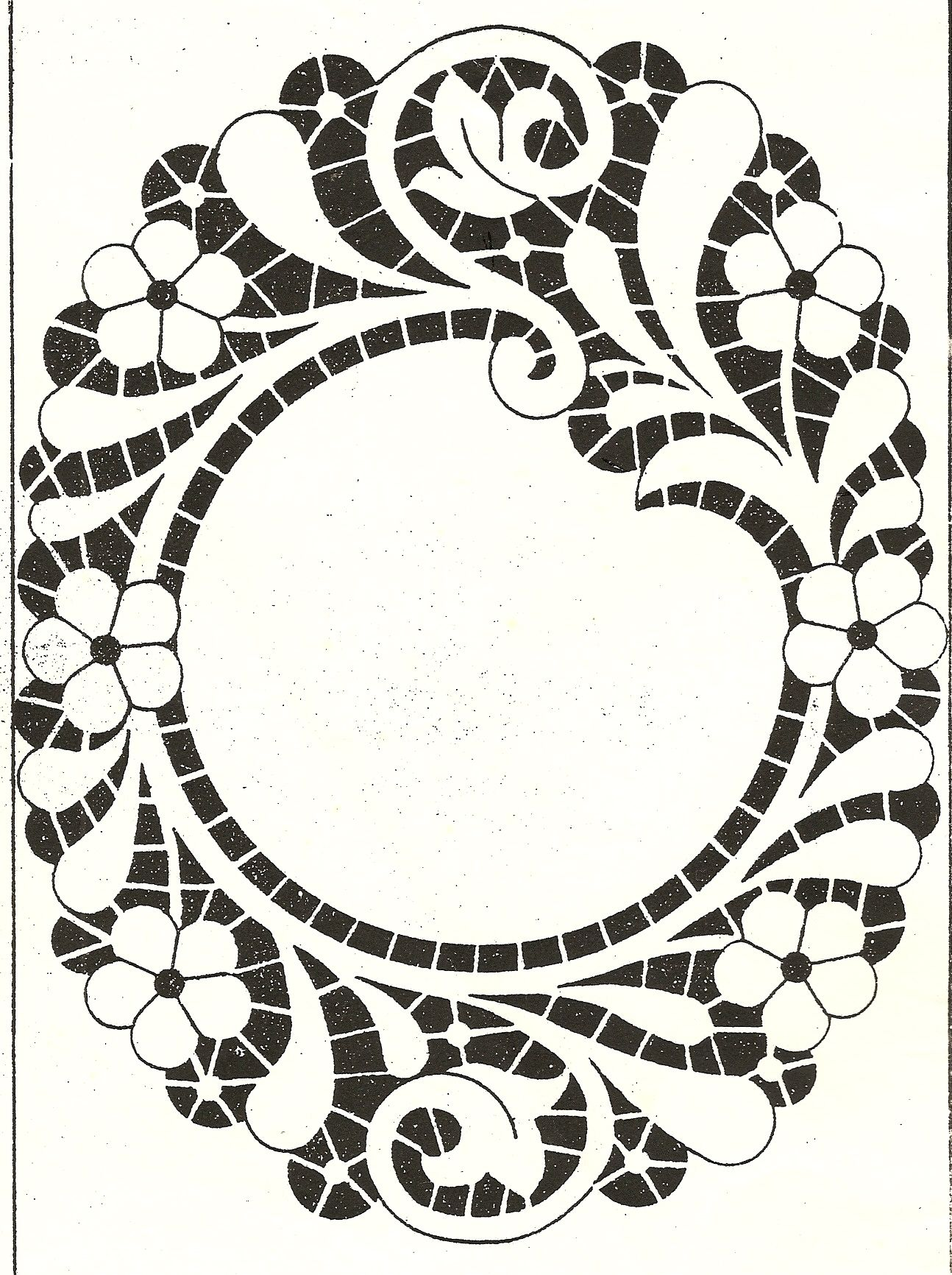Gli Album Del Ricamo A Intaglio.Schema Per Ricamo Ad Intaglio 4 Richelieu Cutwork Embroidery