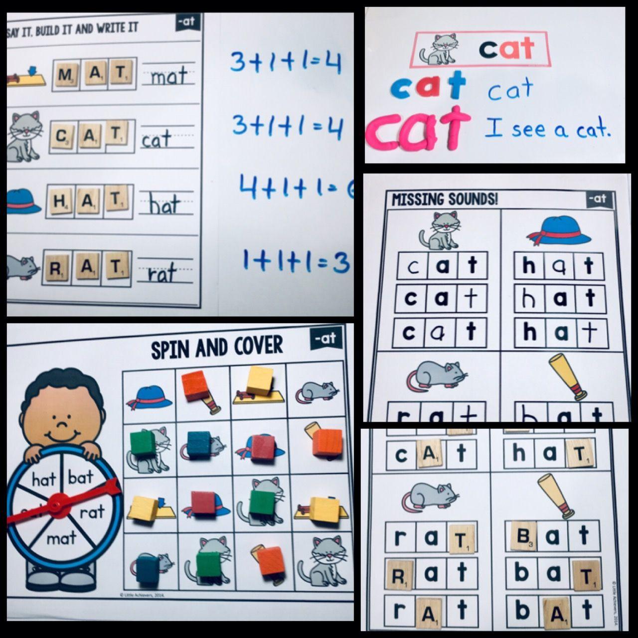 Cvc Words Worksheets And Cvc Activities Bundle Short