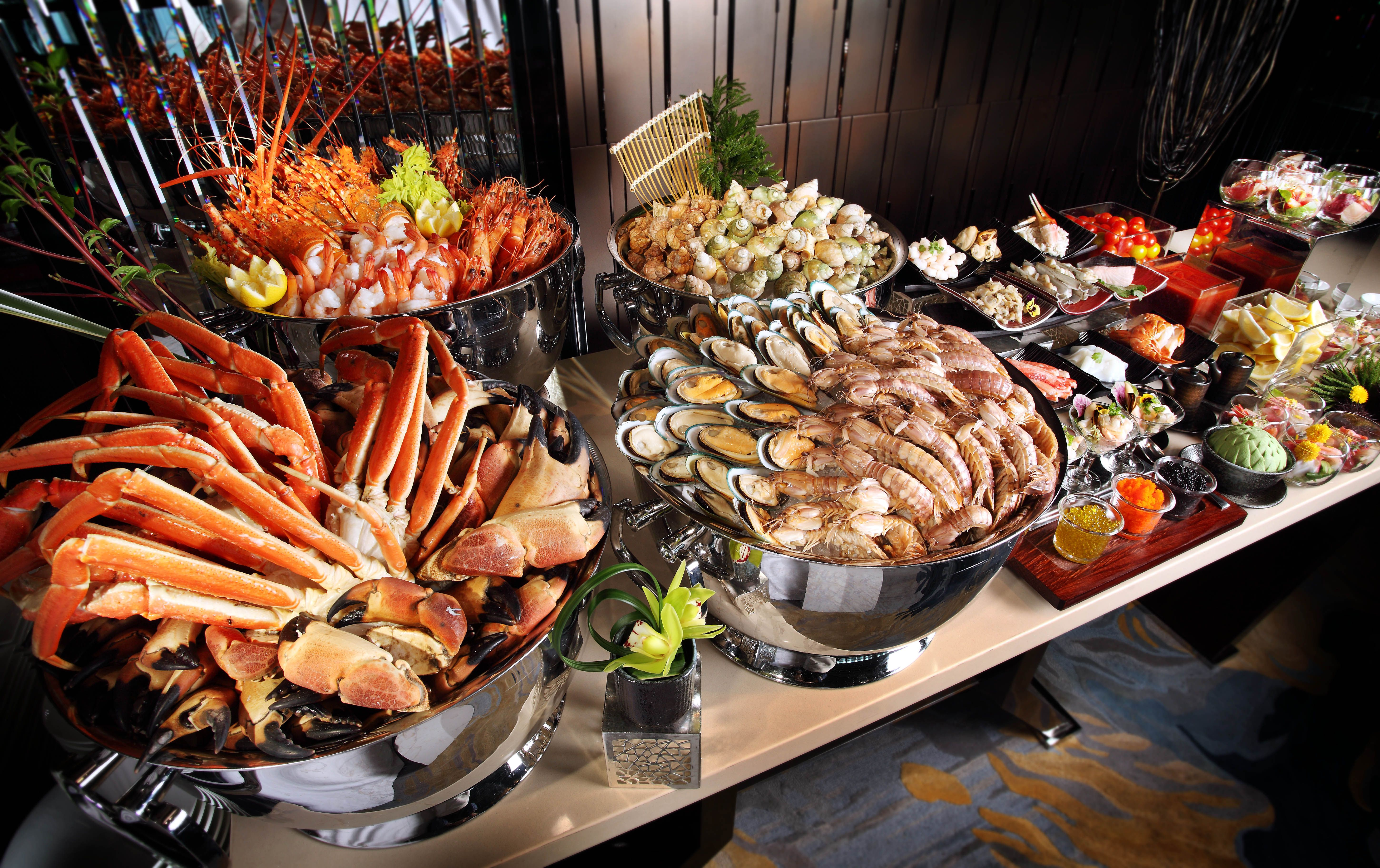 A day to starts what kind of seafood cuisines that for Buffet cuisine en pin
