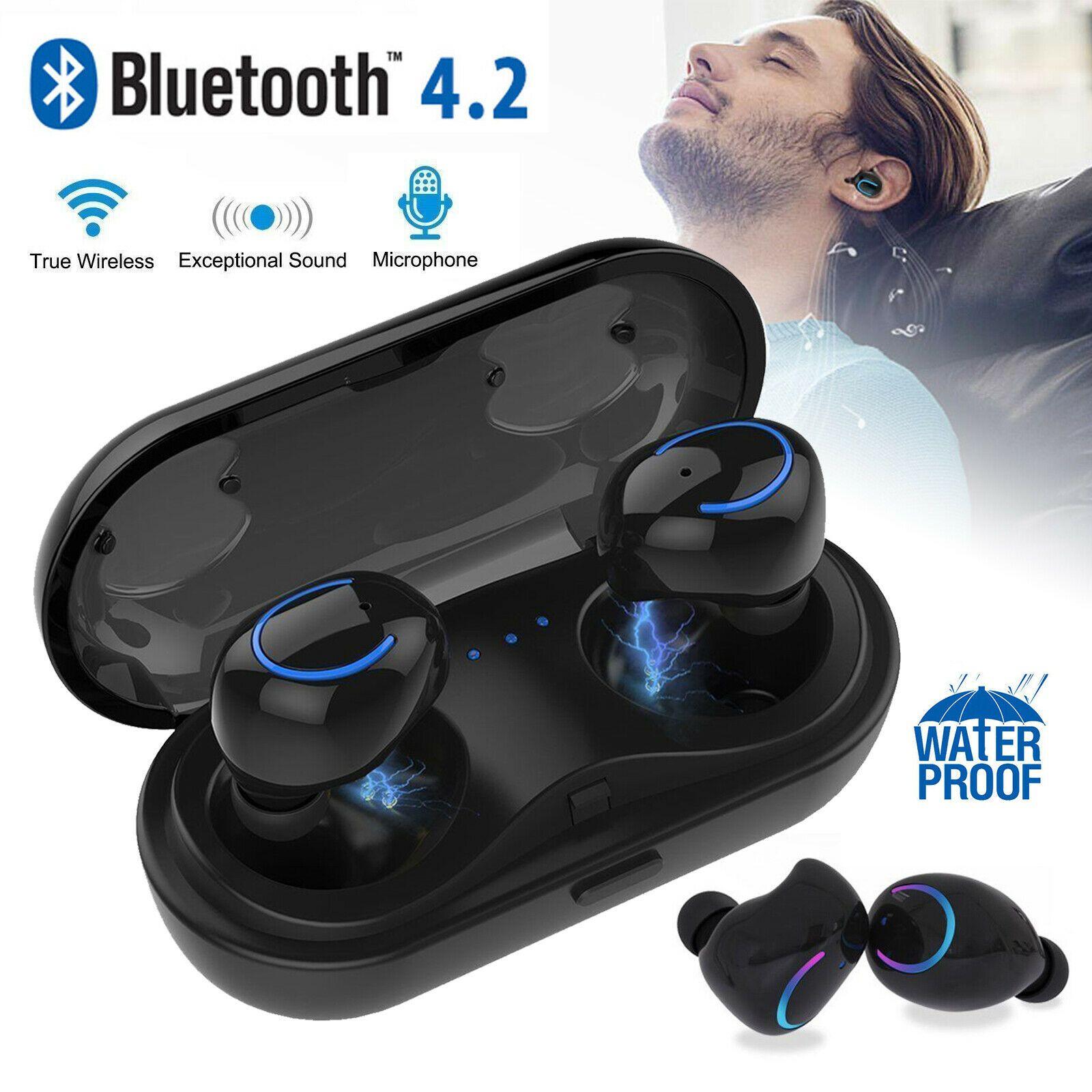 Wireless Earbuds Bluetooth Earphones Headphones For Samsung Galaxy S8 S9 Note 89 Price 24 97 Iphone App Wireless Earbuds Iphone Headphones Headphones