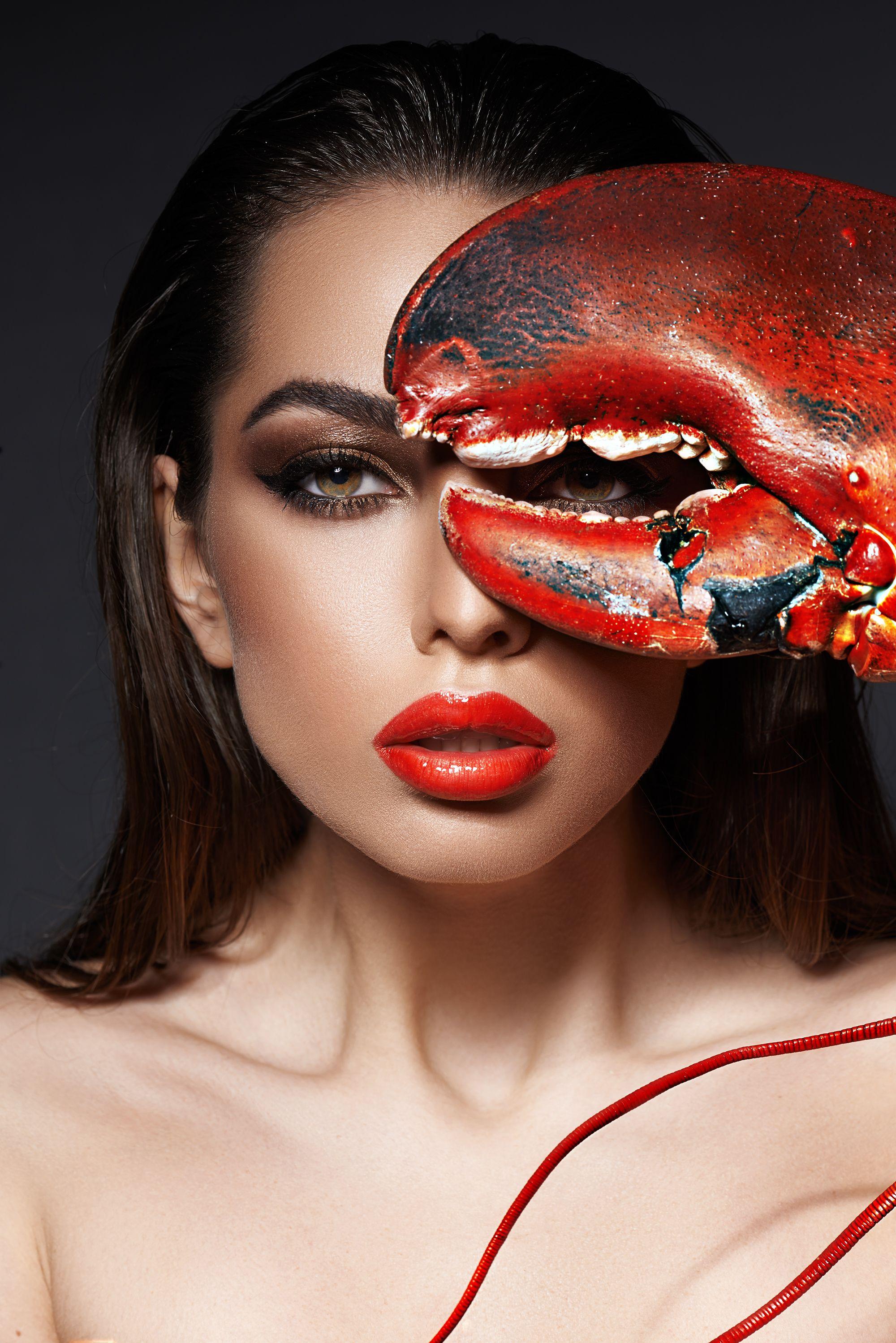 Girls&Food on Behance Halloween face makeup, Girl, Makeup