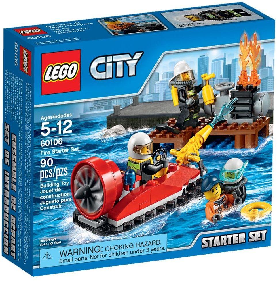 comparez les prix du lego city 60106 ensemble de dmarrage pompiers avant de lacheter - Lego City Pompier