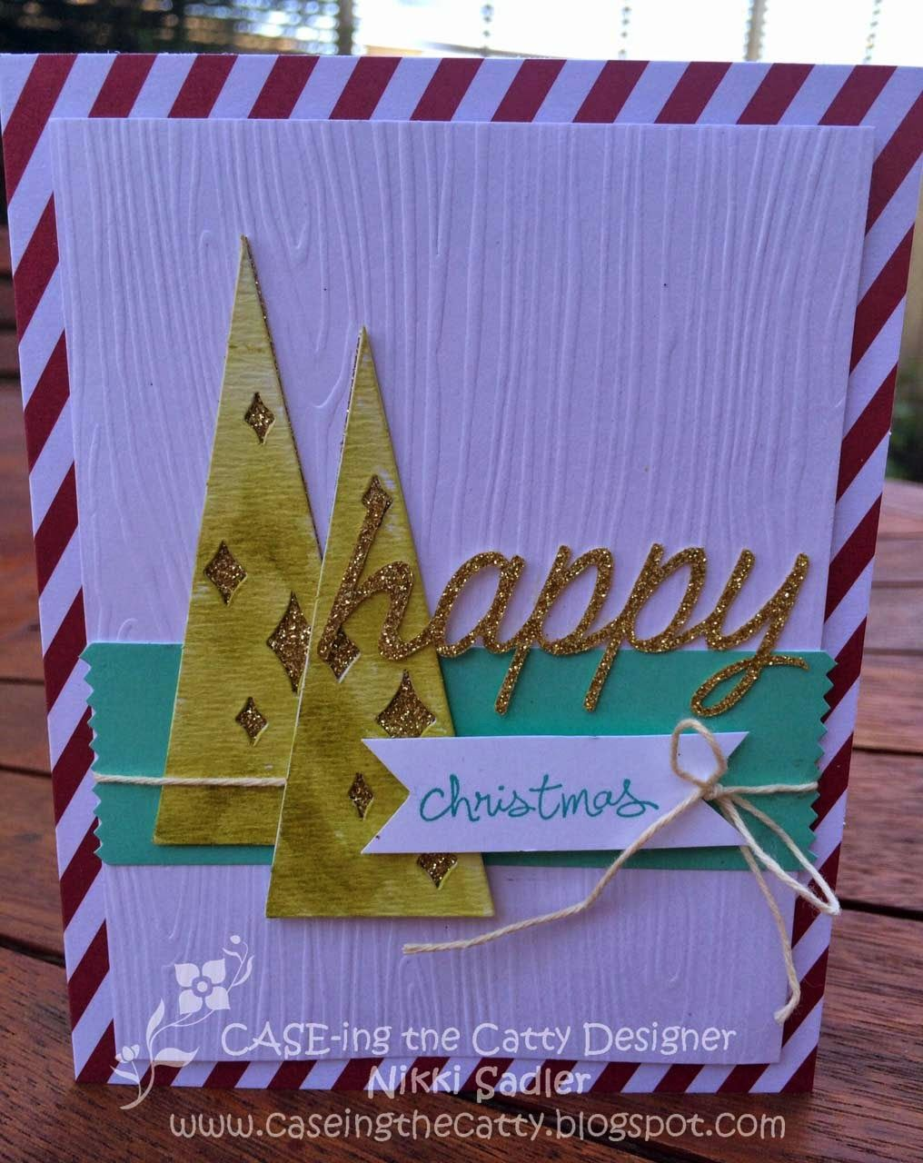 CASE-ing the Catty: CTC 13 - Christmas Cards