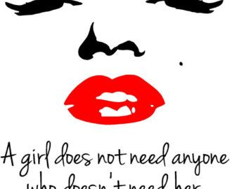 Marilyn Monroe Red Lipstick Quote Red Lipstick Quotes Marilyn