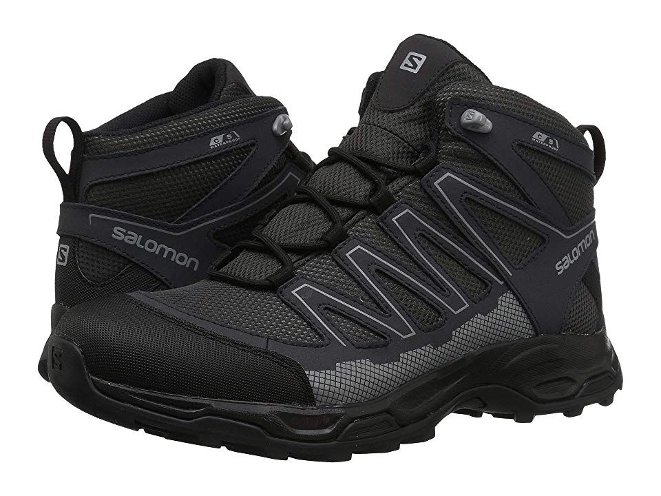 92ceec6d Salomon Pathfinder Mid CSWP Men's Shoes Magnet/Phantom/Monument in ...