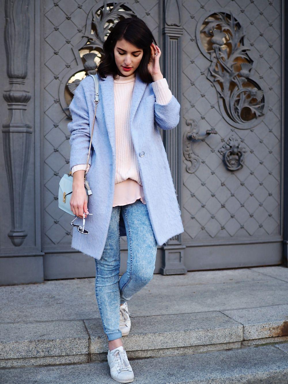Pastels in Winter | Winter stil, Outfit und Winter straßenstile