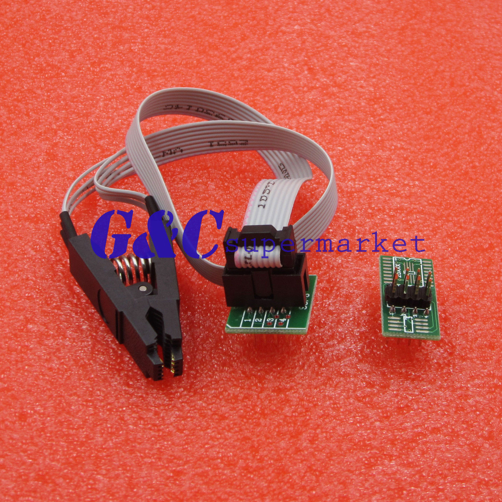 $3 91 - Soic8 Sop8 Test Clip For Eeprom 93/25 /24Cx In
