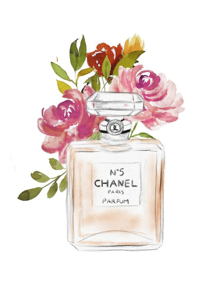 Chanel No. 5 Free Printable Wall Art - Blogging Her Way
