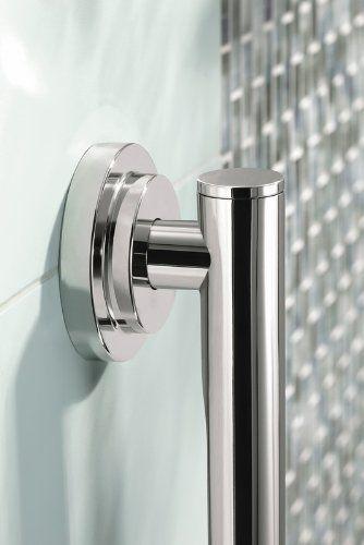 Moen YG0724CH Iso 24-Inch Designer Grab Bar, Chrome - Faucet Valves ...