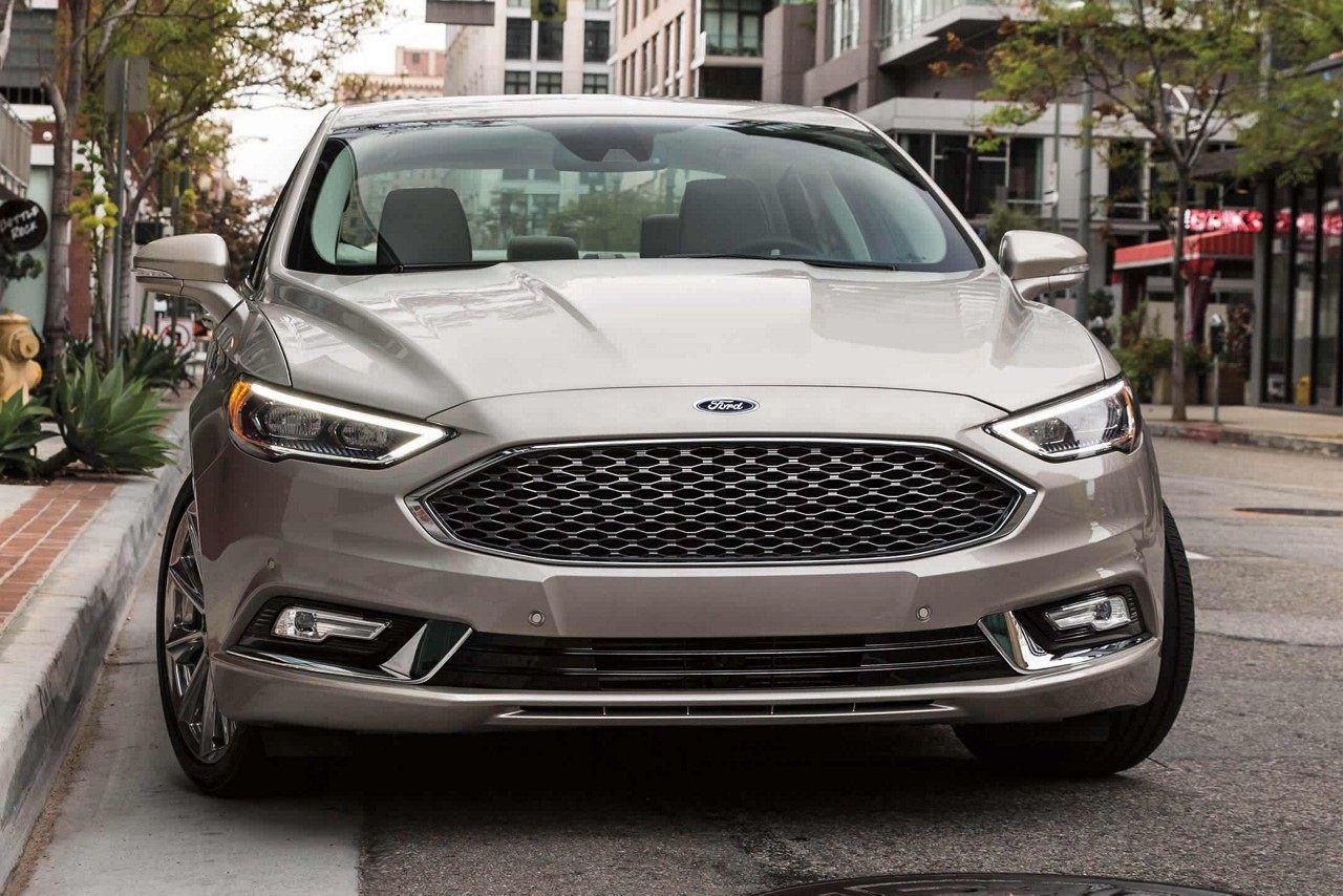 2018 Fusion Platinum In White Gold Ford Fusion Ford Fusion Design