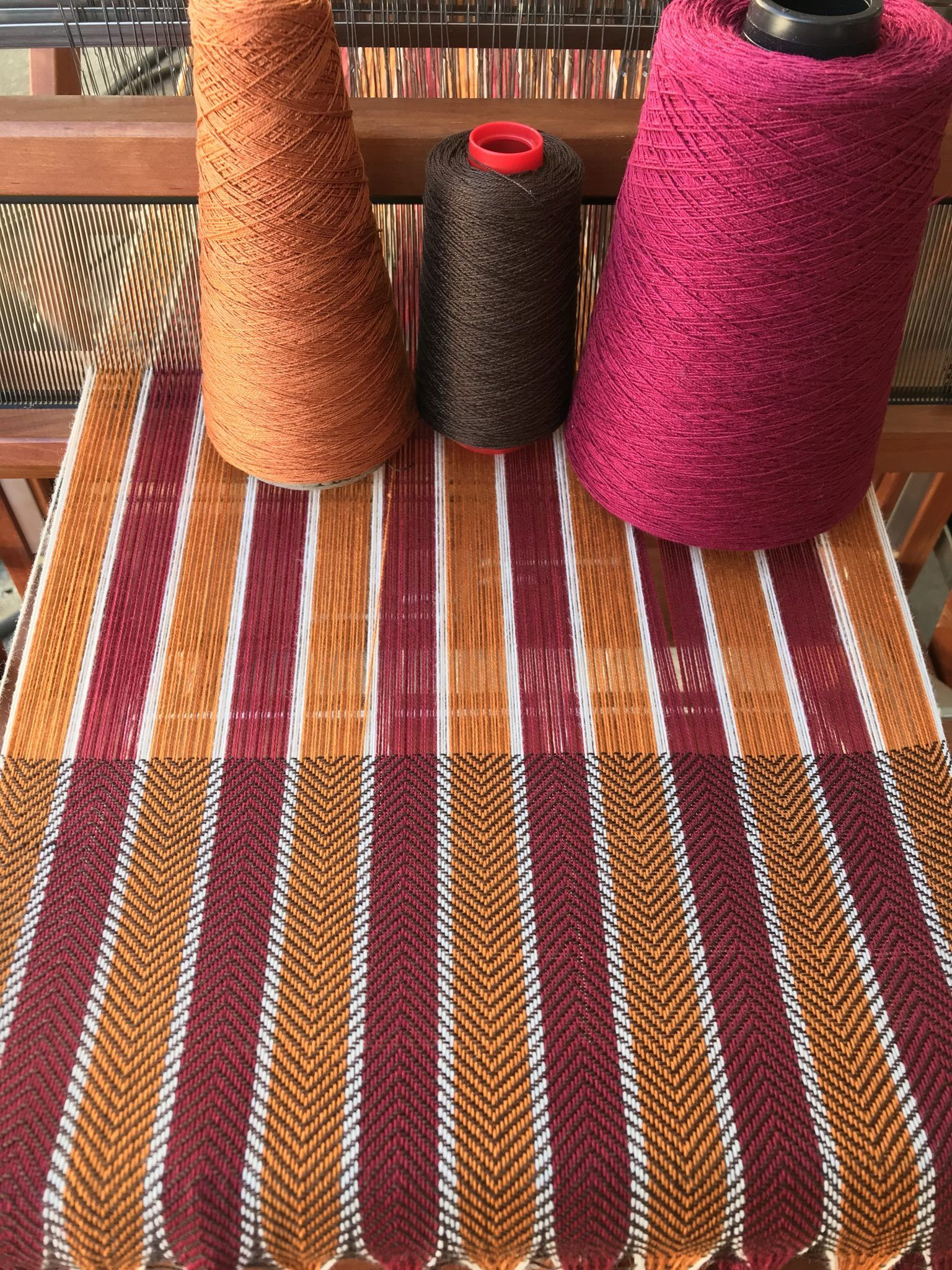 Want to design gorgeous handwoven cloth? Five keys to designing with color.