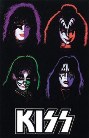 Kiss Black Light Poster By Black Light Posters Black Light