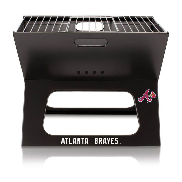Atlanta Braves X-Grill Portable BBQ - $71.99