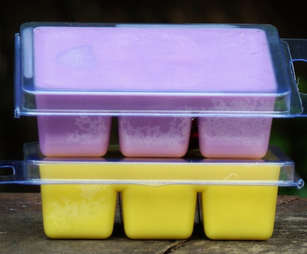 6pk 100hr PINEAPPLE MANGO Triple Scented SOY WAX OIL BURNER CANDLE MELTS gifts