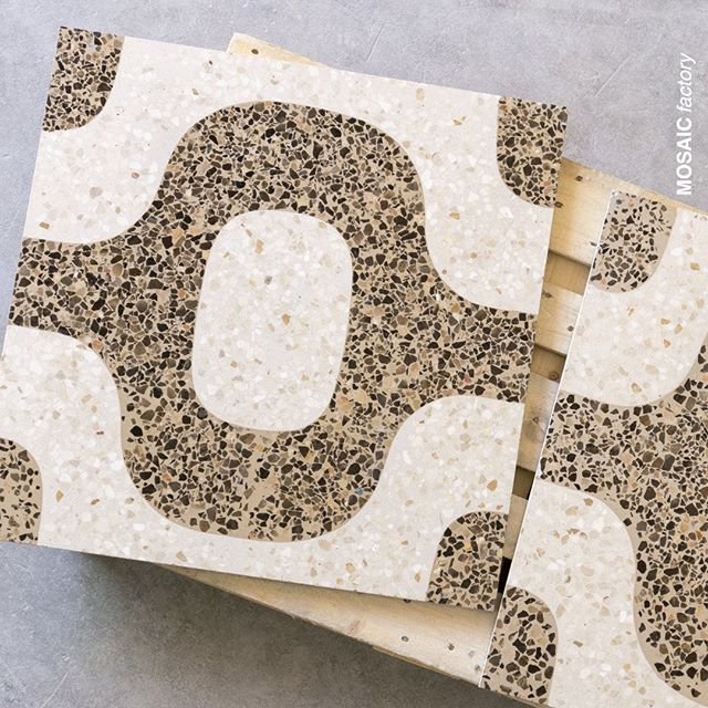 Bigger is better Our 80x80 Slab Terrazzo tiles come in