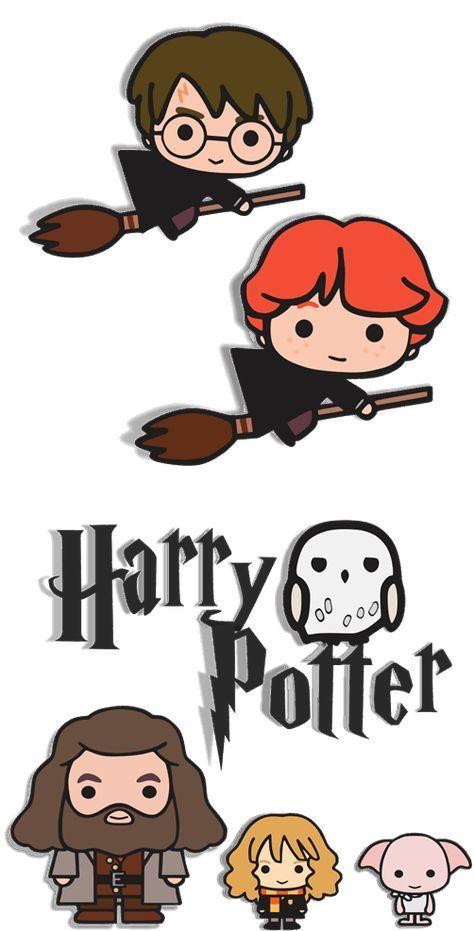 Pin By Svetlana Hil On Harry Potter Sanati Harry Potter Cartoon Harry Potter Stickers Harry Potter Anime
