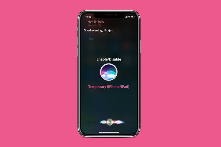 How to temporarily disable untethered hey siri on iphone