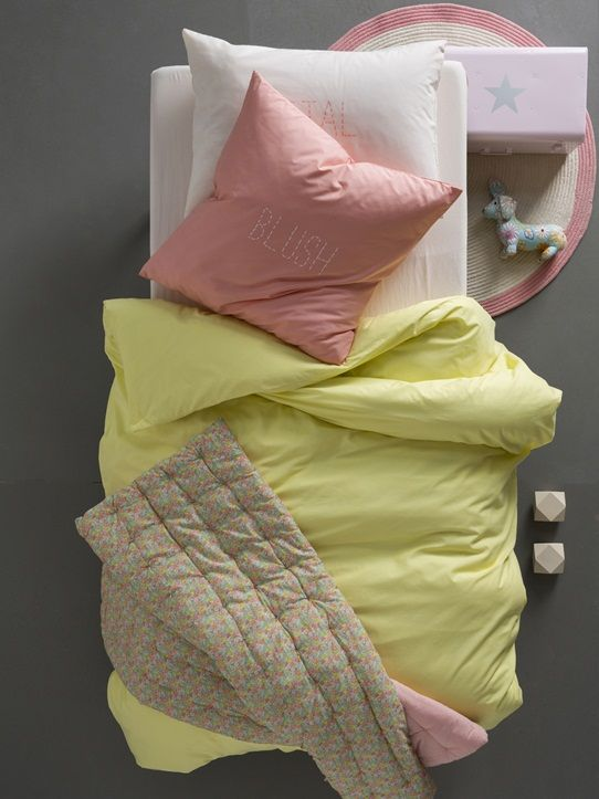housse de couette parure word bambou bleu gris bleu lave bleu nuit corail jaune milky rose rose. Black Bedroom Furniture Sets. Home Design Ideas