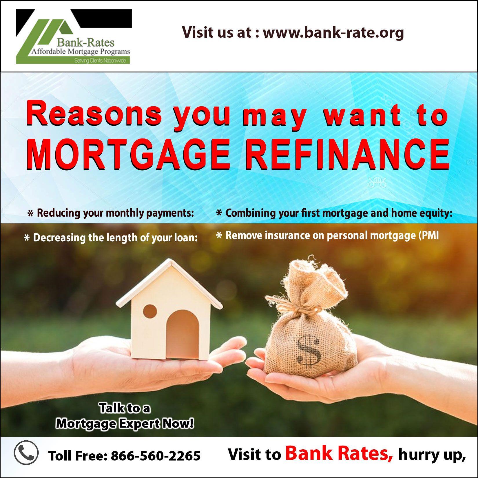 Bank rate refinance loans refinance mortgage bank rate
