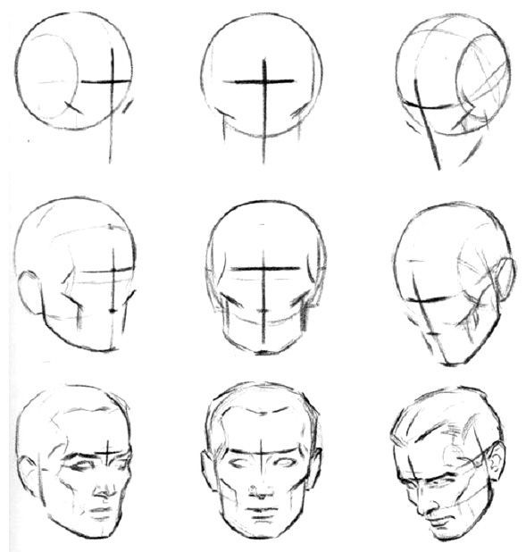 Rostro Humano Como Dibujar Un Hombre Facil Paso A Paso Resultado De Imagen Para Rostros De Hombres A Lapiz De Frente