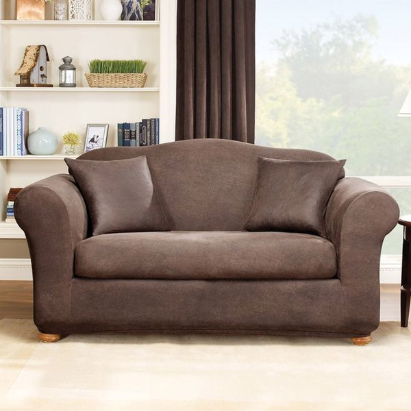 4 Piece Sofa Slipcover | Best Sofa Slipcovers | Loveseat slipcovers ...