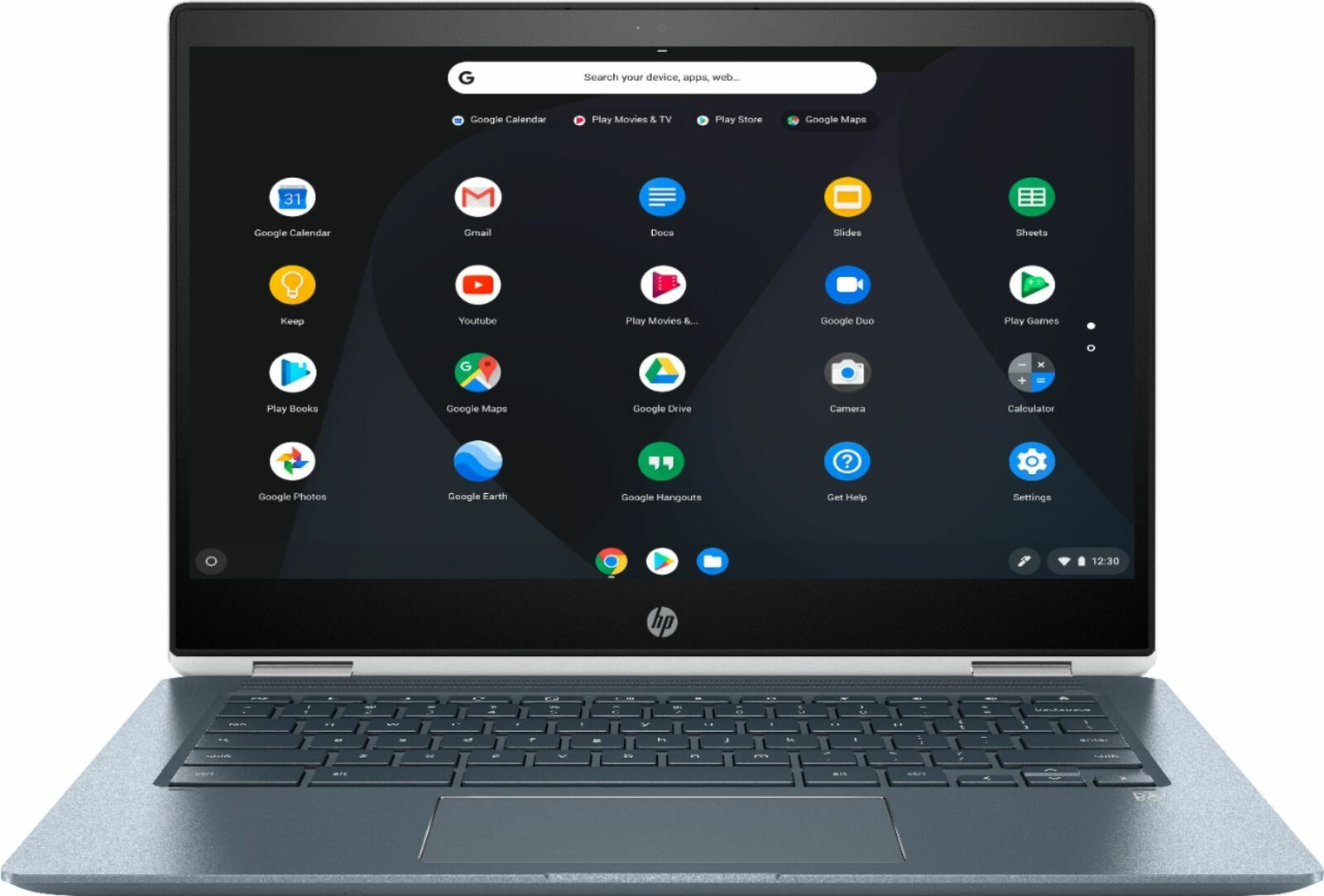 OpenBox Excellent HP 2in1 14 TouchScreen Chromebook