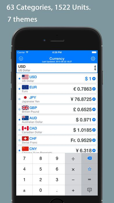QVert Pro - Units Converter by YongYong Chen is now Free for a