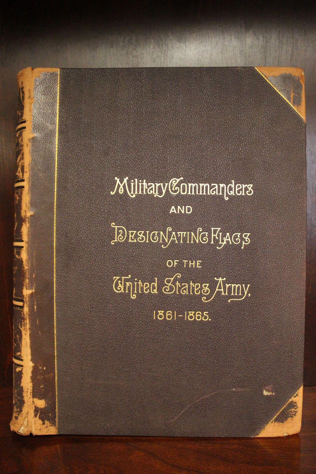 RARE Civil War Folio Flags 1887 1st Edition Army Confederate Union Grant Sherman | eBay