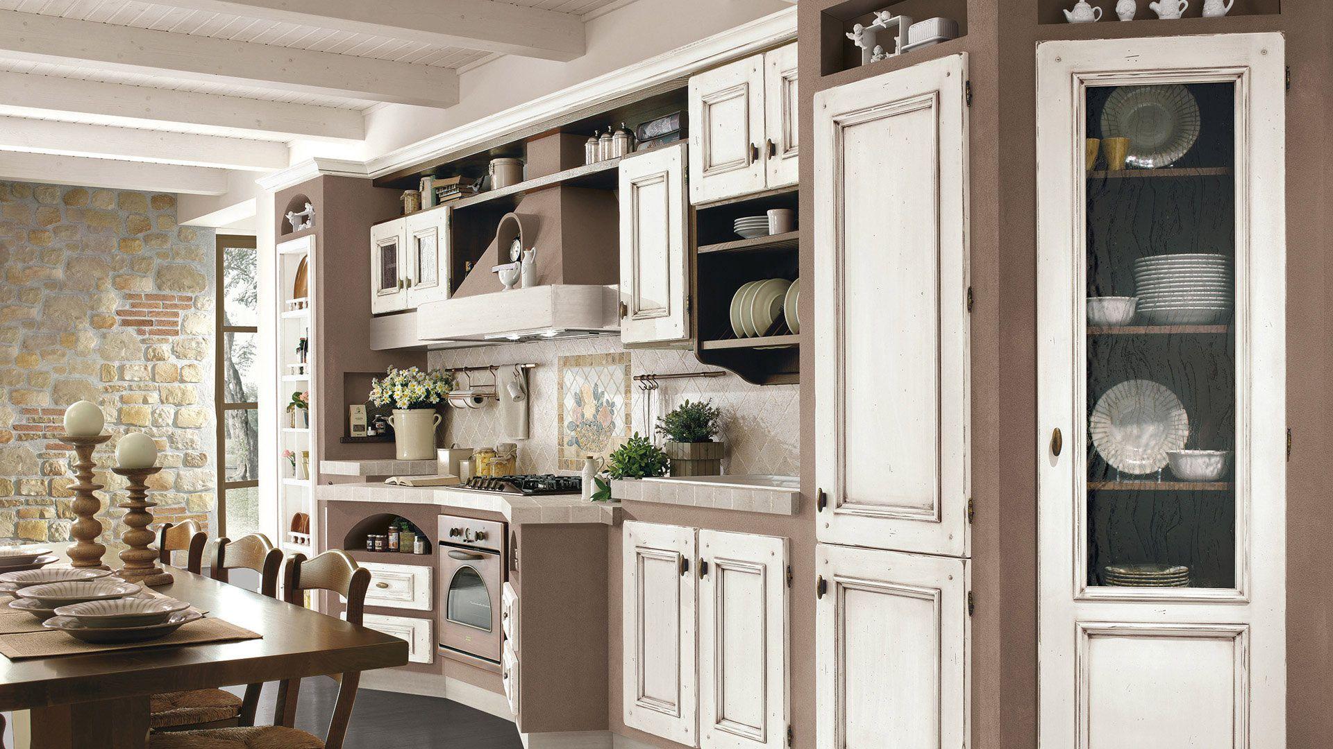 Beatrice - Cucine Borgo Antico - Cucine LUBE   Stile ...