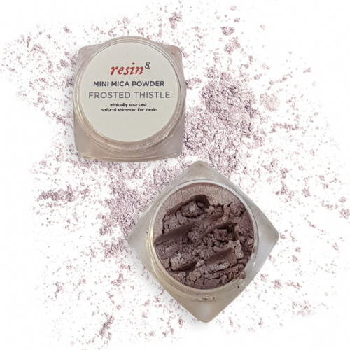 Natural Mica Powder Frosted Thistle MICRO Cosmetics