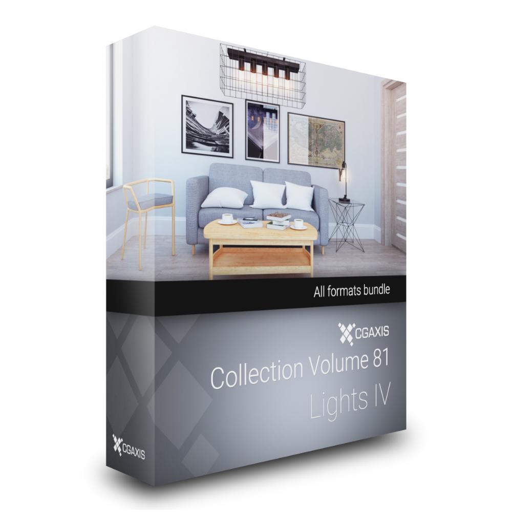 3D Lights IV CGAxis Models Volume 81