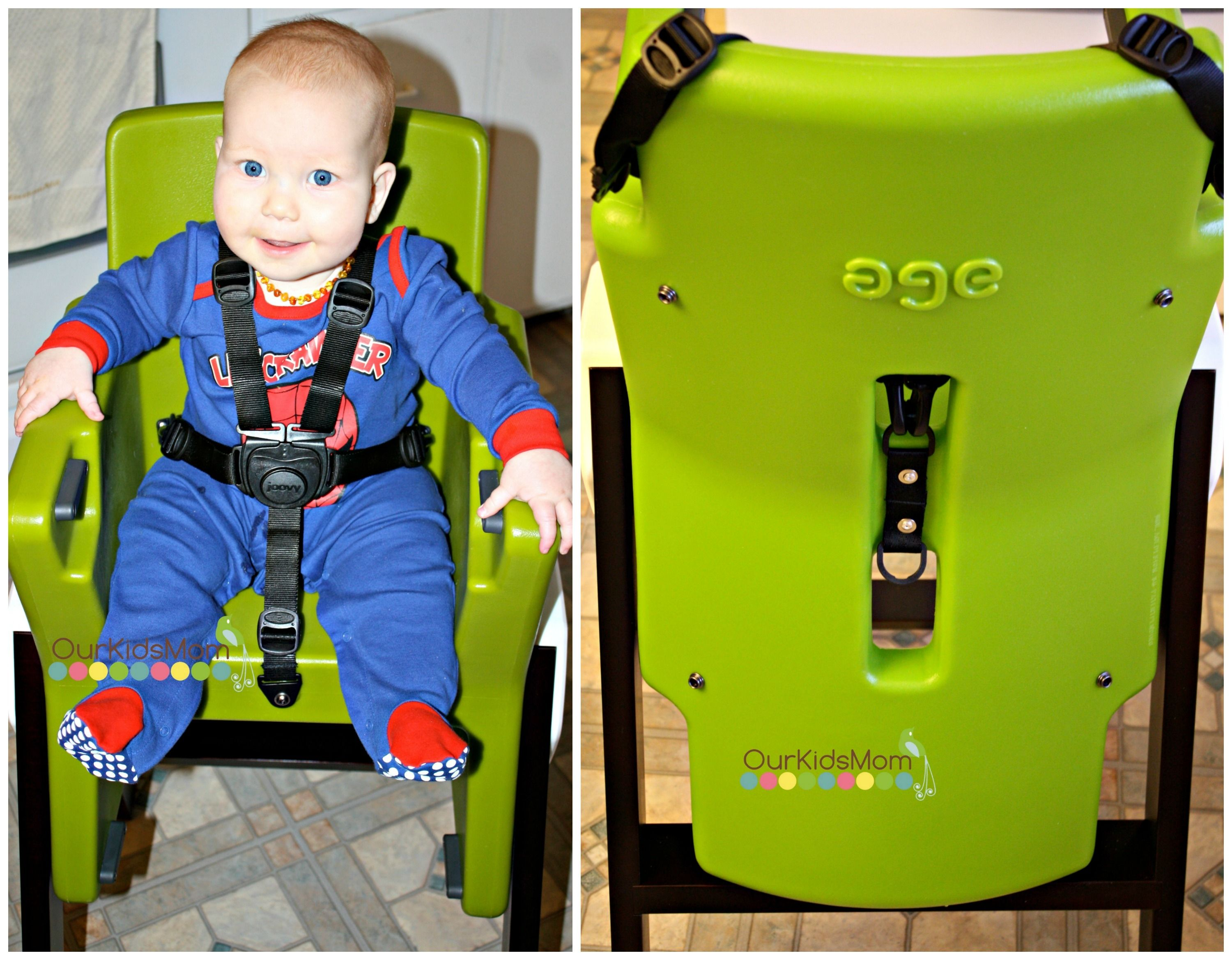 5 Point Harness Travel High Chair